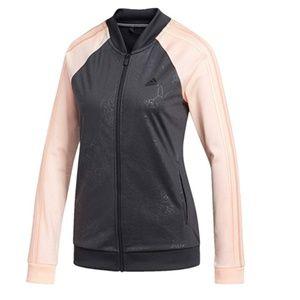 NWT adidas Embossed Track Climalite Jacket M